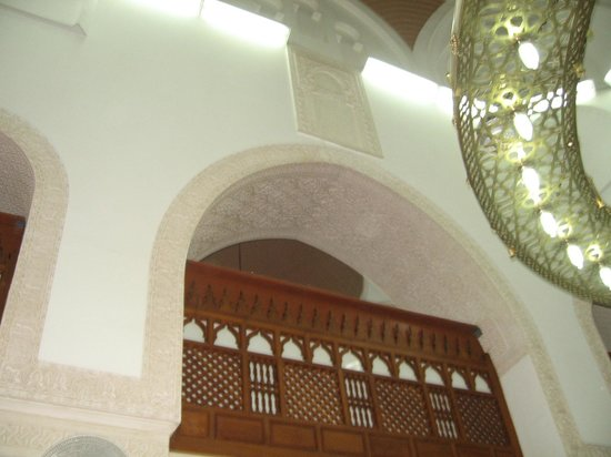 Masjid al-Qiblatain : Sign of original qibla