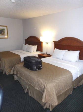 Quality Inn: Notre chambre 123.
