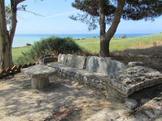 Eraclea Minoa: Greeks ruins on sea.