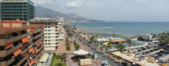 Hotel Apartamentos Pyr Fuengirola: Utsikten fra rommet