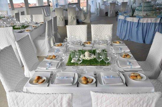 Hotel Tamerici: Allestimento Battesimo