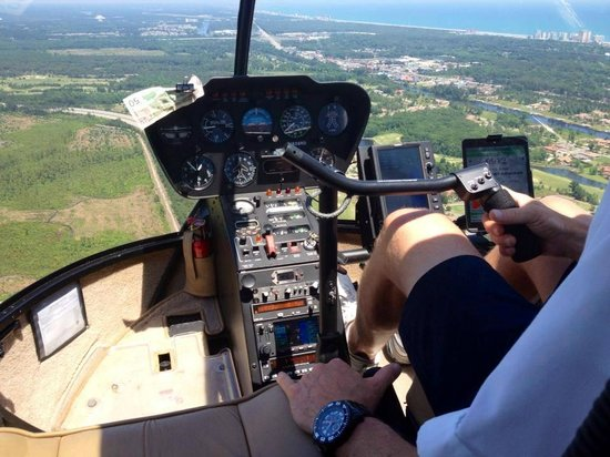 Controls  Picture Of Helicopter Adventures Private Tours Myrtle Beach  Tri