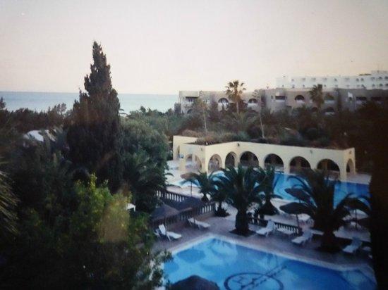Mediterranee Thalasso Golf : Вид из окна моего номера