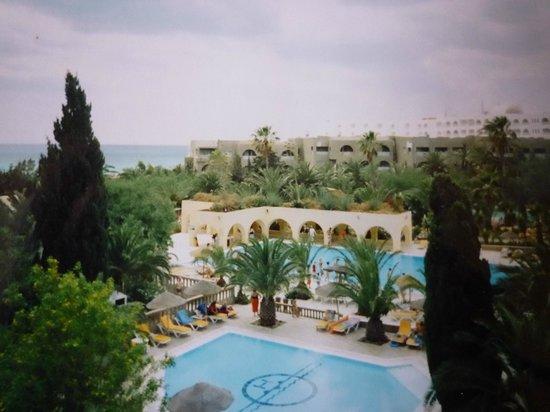 Mediterranee Thalasso Golf : Вид из окна моего второго номера