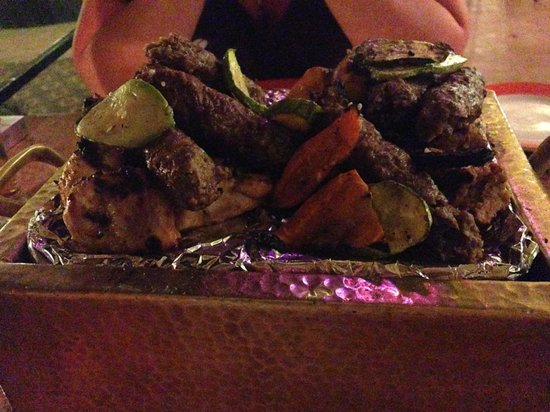 Steigenberger Nile Palace Luxor : Mixed Grill in El Tarboush