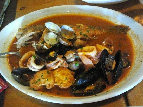 Antichi Sapori Ristorante: Zuppa di pesce