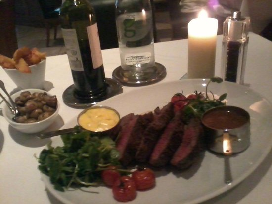 Thorpe Park Hotel & Spa: The Chateaubriand - best meal I have ever had