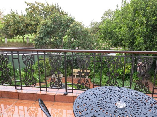 Rusthuiz Guest House: View from Balcony