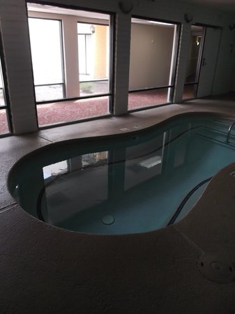 Quality Inn: Small indoor pool.