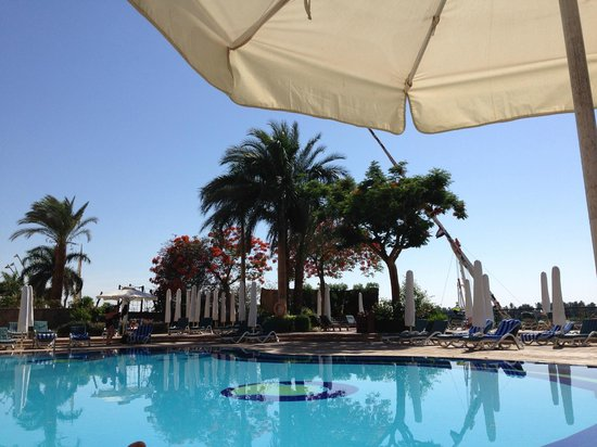 Steigenberger Nile Palace Luxor: Pool Area