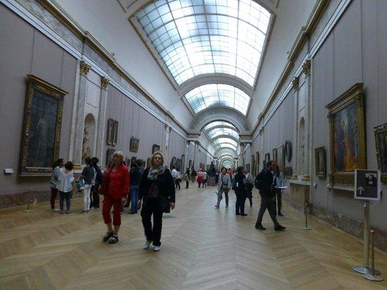 Musée du Louvre : 回廊