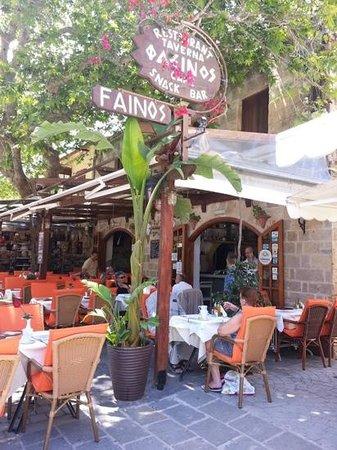 Fainos Restaurant: fainos