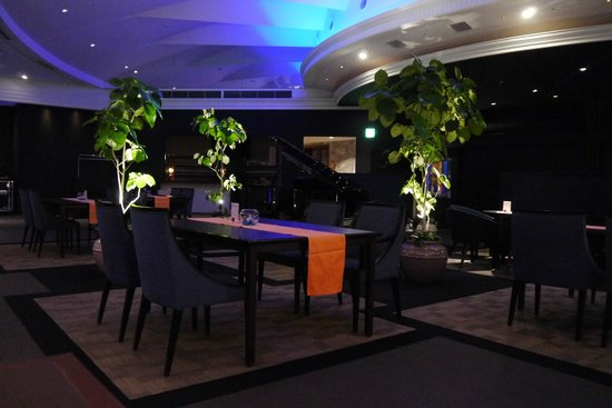Hotel Nikko Kansai Airport: The top floor bar