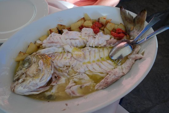 Trattoria Dal Billy: Roasted Fish