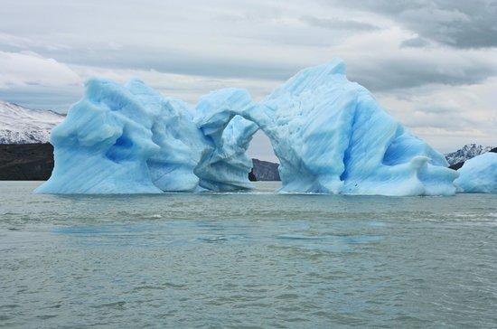 Upsala Glacier: Double Arch
