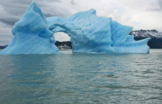 Upsala Glacier: The main attraction on this day