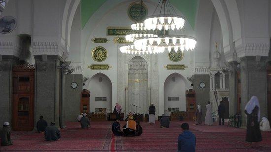 Mosquée de Quba : Inside