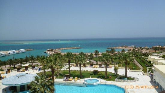 Hilton Hurghada Plaza: С балкона