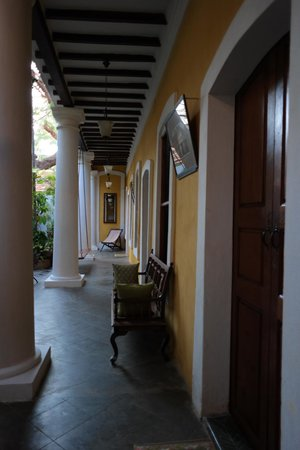 Gratitude, a Heritage Home : terraces in front of the ground floor rooms