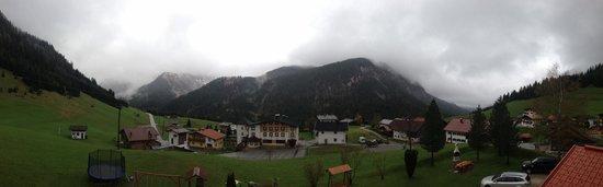 Gastehaus Alpenblick : Вид с балкона