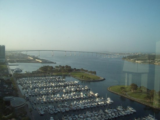 Manchester Grand Hyatt San Diego : View from our room
