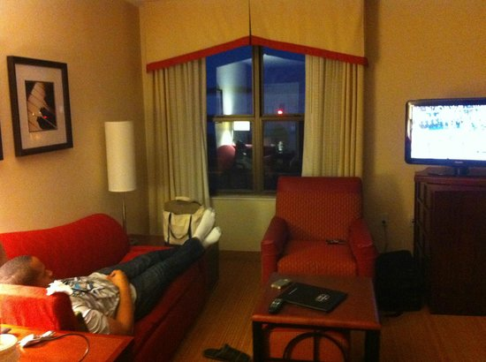 Residence Inn San Diego North/San Marcos: very nice room