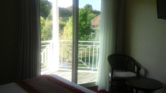 Les Jardins de Beauval : Vue du balcon