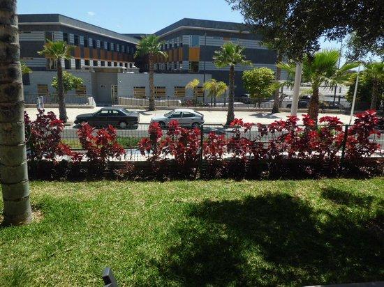 Marylanza Suites & Spa : Blick von der Terrasse