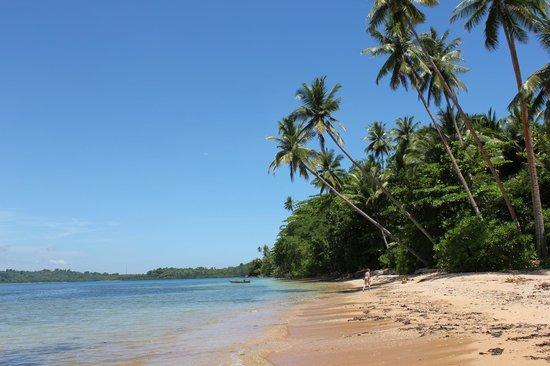 Mimpi Indah Resort: La plage devant Mimpi