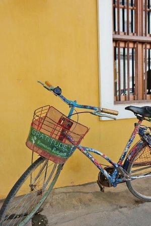 Gratitude, a Heritage Home: gratitude bicycle