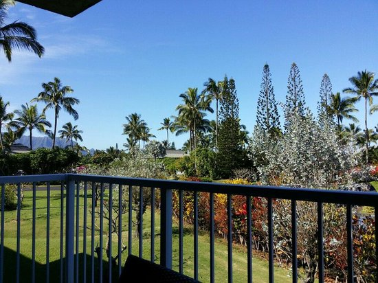 Cliffs at Princeville: From our lanai