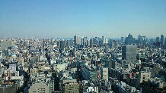 Shangri-La Hotel, Tokyo : Tokyo Cityscape from Room