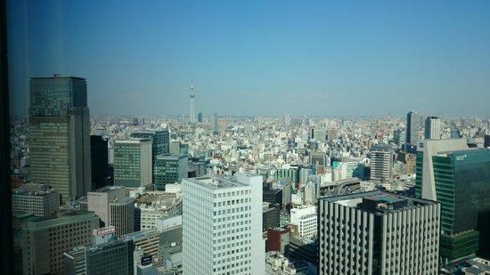 Shangri-La Hotel, Tokyo: Skytree view