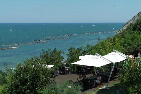 Hotel Sans Souci: View from the Terrace