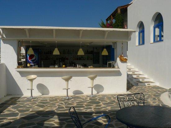 Lindos Sun Hotel: il bar esterno