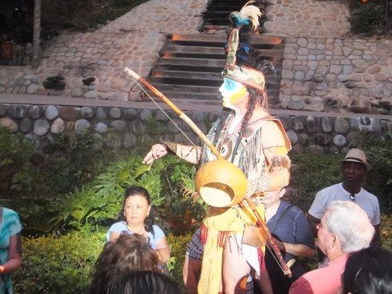 Rhythms of the Night by Vallarta Adventures: Pre-show fun