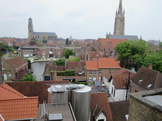De Halve Maan Brewery: view from the roof top