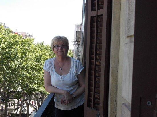 Hotel Medium Monegal: on the Balcony