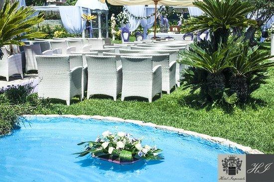 Hotel Imperiale: Funzione Religiosa Parco