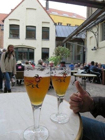 De Halve Maan Brewery: delish!