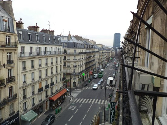 Moderne St-Germain Hotel : La vista es preciosa