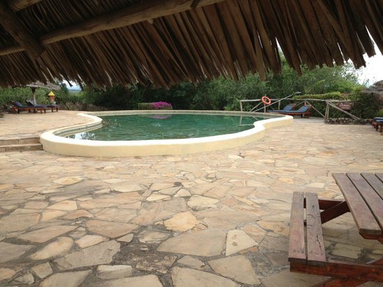 Kia Lodge – Kilimanjaro Airport: Piscina