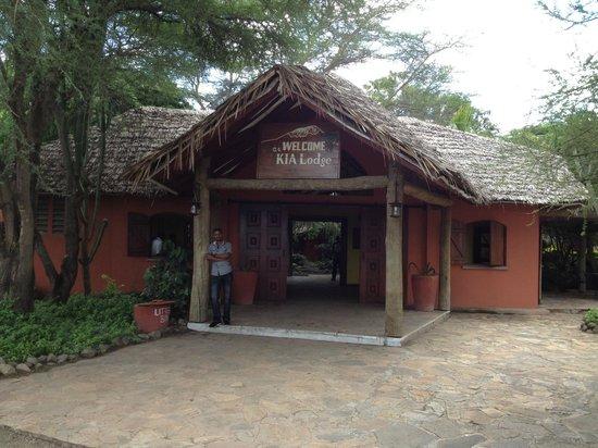 Kia Lodge – Kilimanjaro Airport: Recepción
