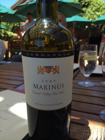 Marinus At Bernardus Lodge: New favorite wine
