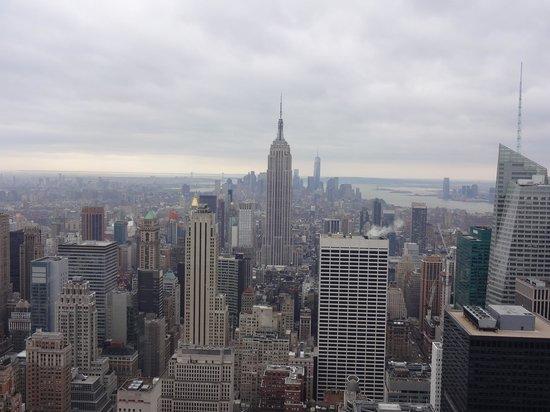 Plate-forme d'observation du GE Building : Empire State