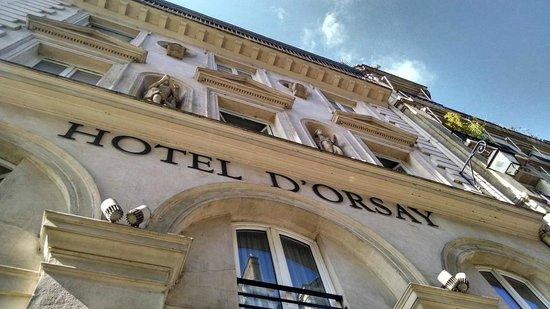 Hotel d'Orsay - Esprit de France: Fachada