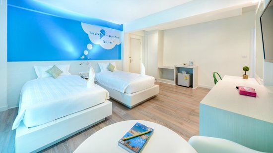 The Tint At Phuket Town: Tint Deluxe Twin Bed