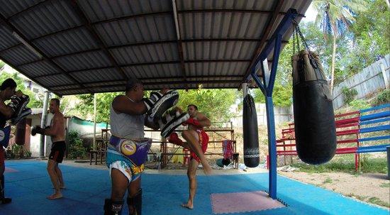 Island Muay Thai : Muay Thai Session