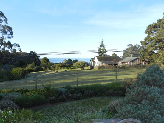 Glendeven Inn Mendocino : View from the Eastlin Suite