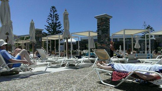 The Island Hotel : Main pool area.
